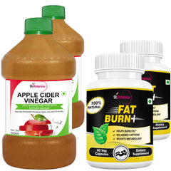 StBotanica Apple Cider Vinegar And Fat Burn+ (Pack of 4)