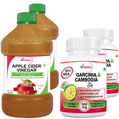StBotanica Apple Cider Vinegar And Garcinia Cambogia Slim (Pack of 4)