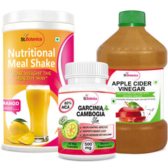StBotanica Nutritional Meal Shake Mango And Apple Cider Vinegar And Garcinia Cambogia Slim Combo