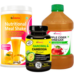 StBotanica Nutritional Meal Shake Mango And Apple Cider Vinegar And Garcinia Cambogia Ultra Formula 750mg 90 Capsules