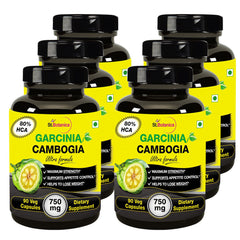 StBotanica Garcinia Cambogia Ultra Formula 80% HCA 750mg Extract 90 Veg Capsules (Buy 3 Get 3 Free And Extra 35% off)