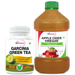 StBotanica Garcinia Green Tea 500mg Extract And Apple Cider Vinegar