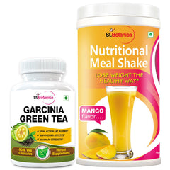 StBotanica Garcinia Green Tea 500mg Extract And Nutritional Meal Replacement Shake