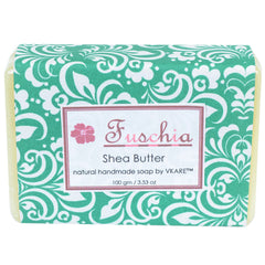Fuschia Shea Butter Natural Handmade Herbal Soap 100gm