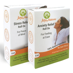 Joybynature Anxiety And Stress Relief Roll On Combo