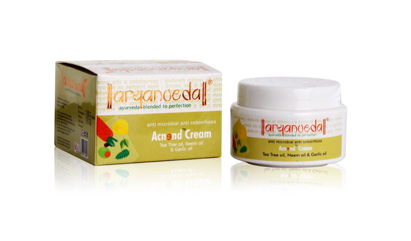 Acne And Pimple - Aryanveda Acnend Cream 40gm