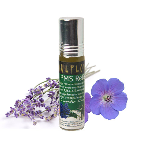 Aromatherapy - Soulflower Pms Relief Roll On 8ml