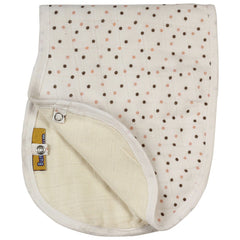 Baby Care - Bumchum Organic Muslin Bib And Burpy Pink Dot
