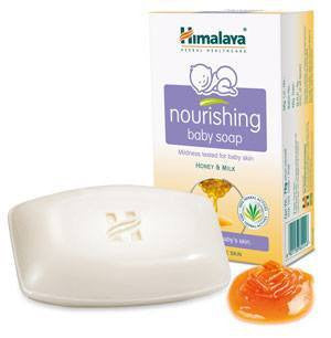 Baby Soap - Himalaya Nourishing Baby Soap 125gm