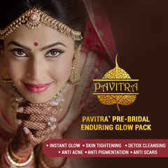 Pavitra+ Pre Bridal Total Skincare with Antimarks Oil Instant Glow Ubtan and Detox Face wash