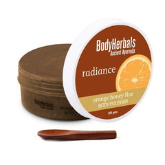 Body Care - BodyHerbals Radiance Orange Honey Fine Body Polisher 200gm
