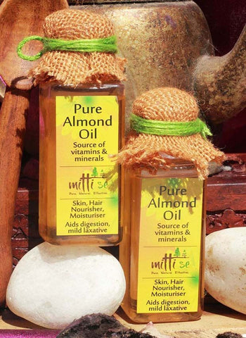 Body Oil - Mitti Se Pure Almond Oil 50ml