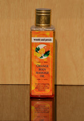 Body Oil - Woods And Petals Orange Body Massage Oil 100ml