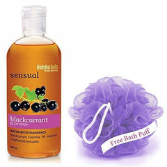 Body Wash - BodyHerbals Sensual Blackcurrant Bodywash 200ml