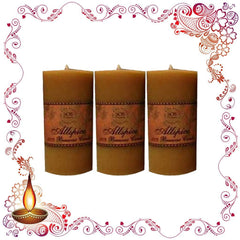 Candles - All Spice Beeswax Candles Pack