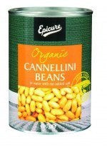 Canned Food - Epicure Cannellini Beans In Water  400gm