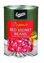 Canned Food - Epicure Red Kidney Beans In Water  400gm
