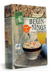 Cereals - Pristine Organics Beginnings Mixed Millets Flakes 300gm
