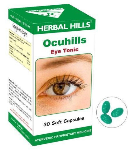 Eye Related - Herbal Hills Ocuhills 30 Tablets