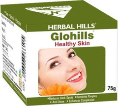 Face Care - Herbal Hills Glohills Face Pack 75gm
