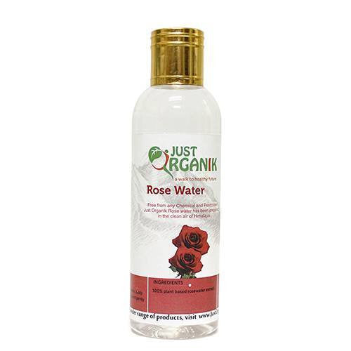 Face Cleanser - Just Organik Organic Rose Water 100ml