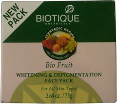 Face Pack - Bio Fruit Whitening & Depigmentation Face Pack 75gm