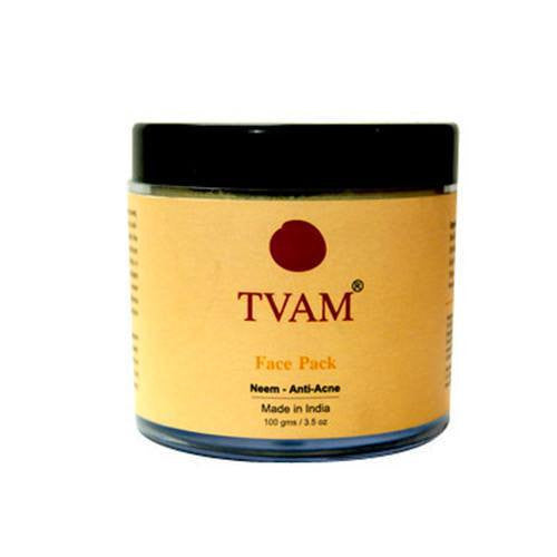 Face Pack - Tvam Naturals Neem-Acne Skin Face Pack 100gm