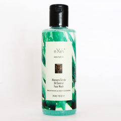 Face Wash - Nyah Aloe Vera Scrub Oil Control Face Wash 210ml
