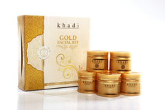 Facial Kit - Khadi Natural Gold Facial Kit