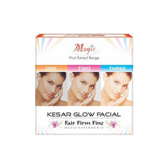 Facial Kit - Nature Essence Kesar Glow Facial Kit  100gm