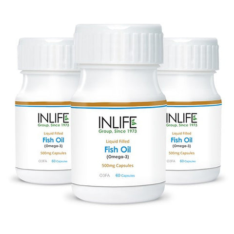 Inlife Pharma Fish Oil Omega 3 Capsules (Pack Of 3)