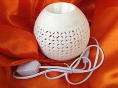Fragrance - Soil White Electric Round Diffuser 250gm