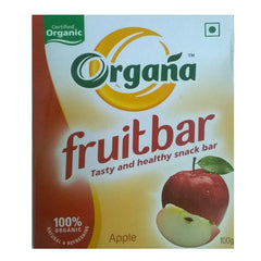 Organa Apple Fruit Bar (Pack of 3)