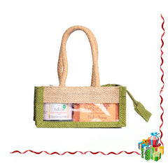 Gift Pack - Rustic Art Jute Gift Set (Small)