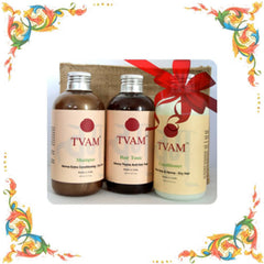 Gift Pack - Tvam Naturals Compact Hair-Care Kit