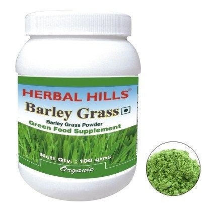 Green Food Supplement - Herbal Hills Barley Grass 100gm