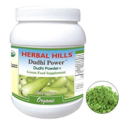 Green Food Supplement - Herbal Hills Dudhi Power 100gm