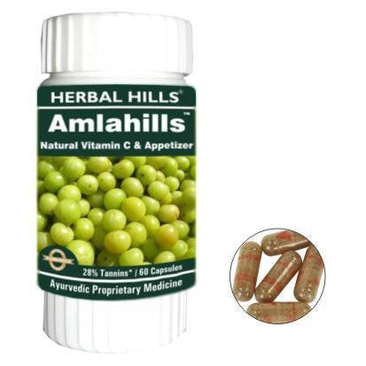 Hair Care - Herbal Hills Amlahills 60 Capsules