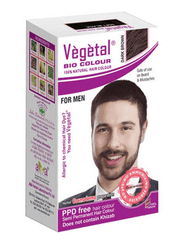 Hair Color - Vegetal Bio Colour For Men - Dark Brown 25gm