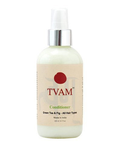 Hair Conditioner - Tvam Naturals Green Tea, Cucumber & Basil Cleansing Milk 200ml