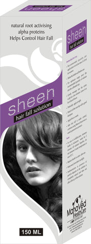 Hair Treatment - Sheen - Hair Fall, Hair Loss, Hair Split, Rough Hair, Dry Hair Problem Solution