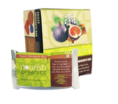 Health Bars - Nourish Organics Anjeer Amaranath Bar 30gm