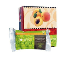 Health Bars - Nourish Organics Apricot Bar 30gm