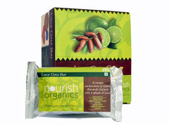 Health Bars - Nourish Organics Lime Date Bar 30gm