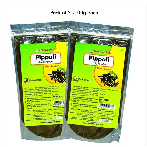 Health Care - Herbal Hills Pippali Fruit Powder (Pack Of 2) 100gm Each