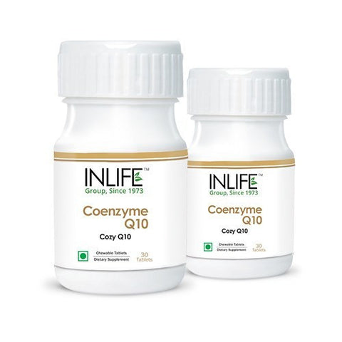 Health Care - Inlife Pharma Coenzyme Q10 Tablets (Pack Of 2)