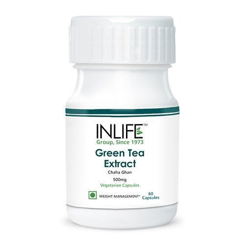 Health Care - Inlife Green Tea Extract 500mg 60 Veg Capsules