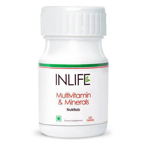 Health Care - Inlife Pharma Multivitamin & Minerals 60 Tablets