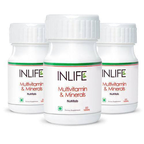 Health Care - Inlife Pharma Multivitamin & Minerals Tablets (Pack Of 3)