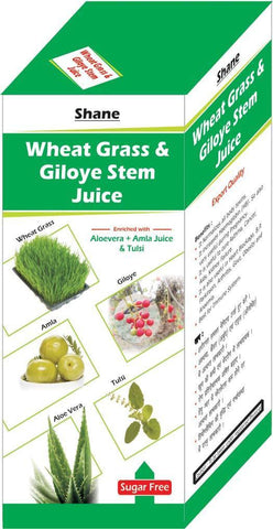 Shane Wheat Grass Ayurvedic Herbal Juice 500ml